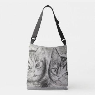 Sac Ajustable Le duo des chatons, ► monochromatique Craftiespot