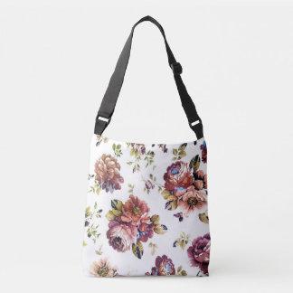 Sac Ajustable Motif floral vintage tout plus de - imprimez le