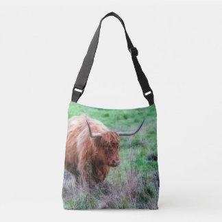 Sac Ajustable Photographie de vache à Moorland