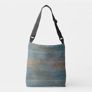 Sac Ajustable Texture bleue en bois de plage