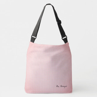 Sac Ajustable Vintage_Peach__Gingham_