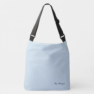 Sac Ajustable Vintage_Sky-Blue_Gingham_