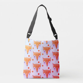 Sac astucieux de Crossbody d'aquarelle de Fox