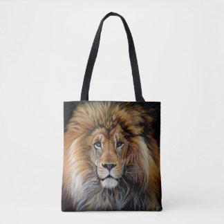 Sac AUDACIEUX d'impression de LION partout
