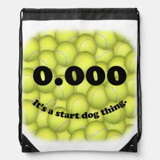 Sac Avec Cordons 0,000, le début parfait, c'est une chose de chien