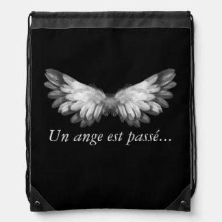 """Sac Avec Cordons Collection """"Un ange passe..."""" Sac de gym, piscine"""