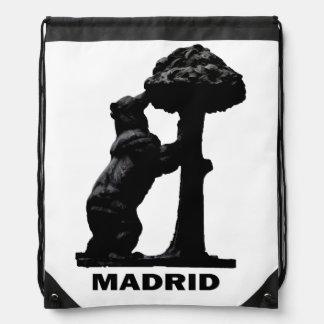 Sac Avec Cordons l'ours et l'arbre de Madrono de Madrid