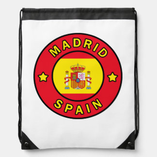 Sac Avec Cordons Madrid Espagne