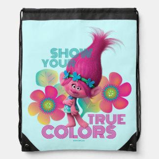Sac Avec Cordons Pavot des trolls | - montrez vos couleurs vraies