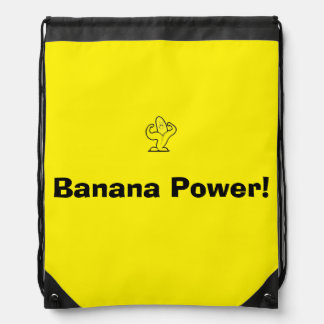 Sac Avec Cordons sac de banane