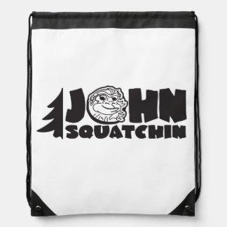 Sac Avec Cordons Sac de John Squatchin