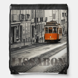 Sac Avec Cordons Sac de tour sac Lisbonne Portugal