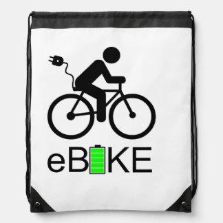 """Sac Avec Cordons Sacs de cordon de """"Ebike"""""""
