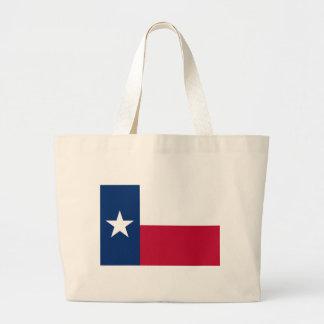 Sac avec le drapeau de l'état du Texas -