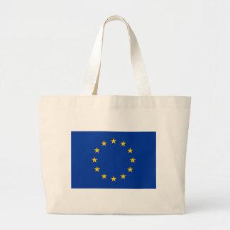 Sac avec le drapeau de l'Union européenne