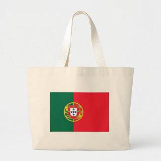 Sac avec le drapeau du Portugal