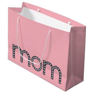 Sac bling de cadeau de maman