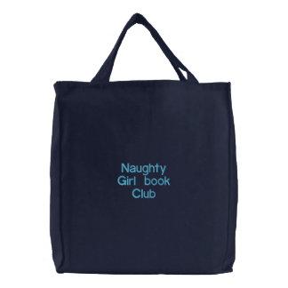 Sac Brodé Club de lecture vilain de fille