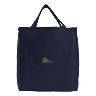 Sac Brodé Logo de montagne