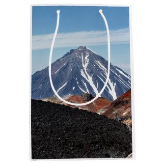 Sac Cadeau Moyen Paysage volcanique pittoresque