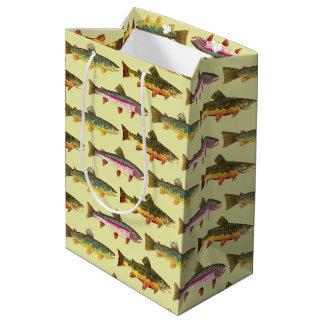 Sac Cadeau Moyen Pêche belle de truite, ichtyologie