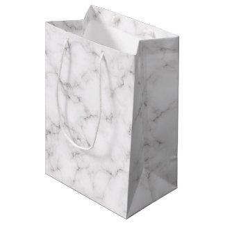 Sac Cadeau Moyen Style de marbre élégant