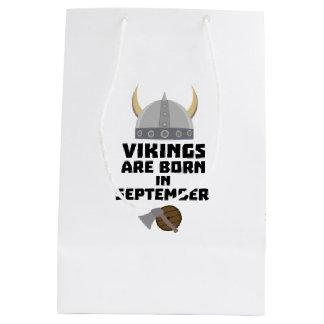 Sac Cadeau Moyen Vikings sont en septembre Zmnk2 nés