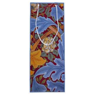 Sac Cadeau Pour Bouteille Conception florale vintage de William Morris St