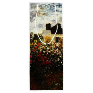 Sac Cadeau Pour Bouteille Jardin de Claude Monet-Monet à Argenteuil
