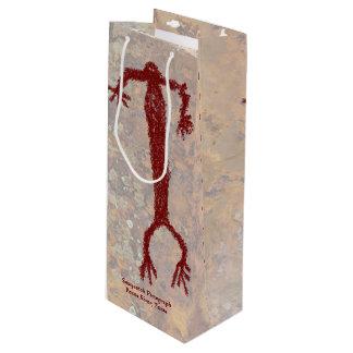 Sac Cadeau Pour Bouteille Pictographe de Sasquatch