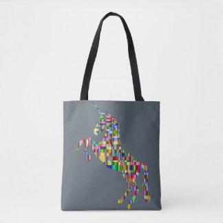 sac coloré de licorne