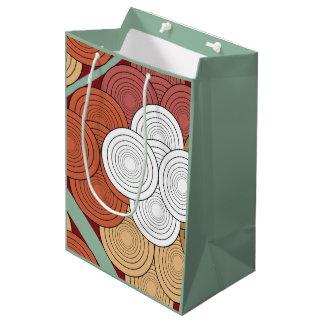 sac coloré géométrique de cadeau
