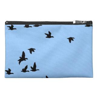 Sac d'accessoire de voyage de faune d'oiseaux de