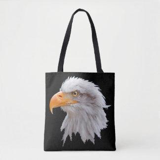 Sac d'Alaska d'impression d'Eagle chauve partout