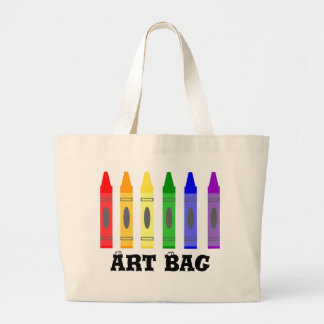Sac d'art d'artiste de crayon
