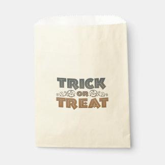 Sac de bonbons à des bonbons ou un sort sachets en papier