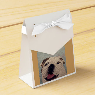 sac de cadeau de chien de taureau ballotin pour dragées