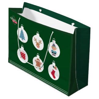 sac de cadeau de Noël