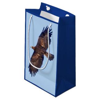 Sac de cadeau d'Eagle d'or en vol