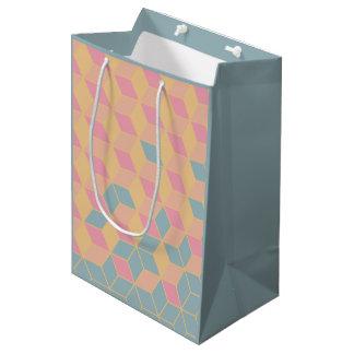 sac de cadeau géométrique