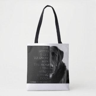 Sac de citation de chien de Charles de Gaulle (sac