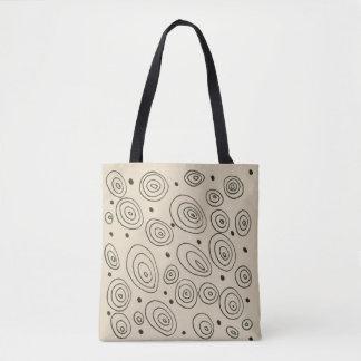 Sac de concepteurs avec des cercles de mode