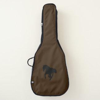 Sac de guitare acoustique de conception de cheval,