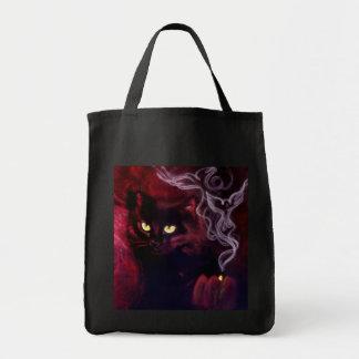 Sac de magie de chat noir