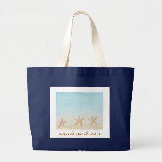 Sac de sable et de plage de mer