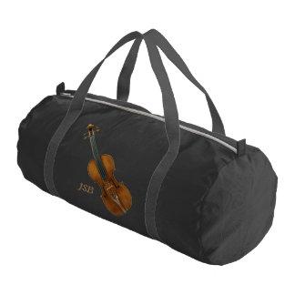 Sac De Sport Violon de Stradivari avec le monogramme fait sur