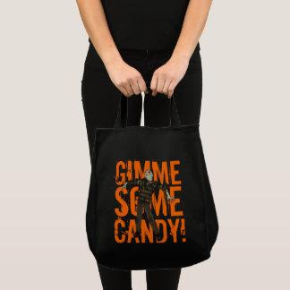 Sac de sucrerie de Halloween de zombi