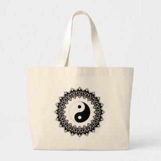 Sac d'éléphant de Yin Yang de mandala