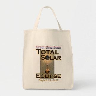 Sac d'épicerie d'éclipse