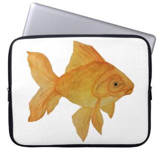 Sac d'ordinateur portable de poisson rouge